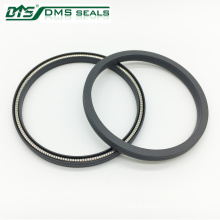 carbon/bronze/filled ptfe/spring clip loaded vari seal