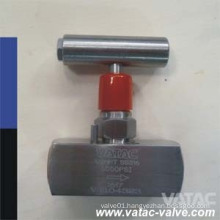 Lever Operated 6000psi/10000psi Screwed Bonnet Needle Valve