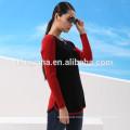 100% cashmere woman's crewneck winter sweater