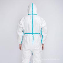 Descartáveis médicos de vestidos de isolamento