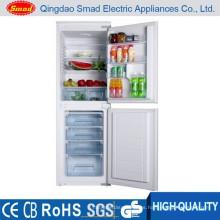 Electrodomésticos empotrados refrigerador de doble puerta