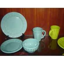Ceramic Glazed Tableware Set Bowl and Plate