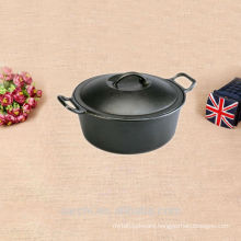 non stick cast iron cooking set cauldrons pots