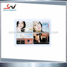 Hot promotional beautiful rubber gift magnet