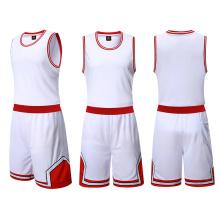 Vente chaude de Jersey de basket-ball fait sur commande d'usine de la Chine nouvelle conception uniforme de basket-ball pour la formation