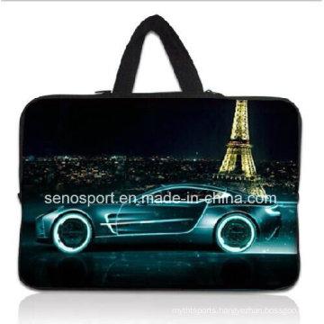 "15"" Custom Design Neoprene Laptop Sleeve with Handle (SNLS01)"