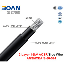 Tree Wire Cable 15 Kv 2-Layer ACSR (ANSI/ICEA S-66-524)