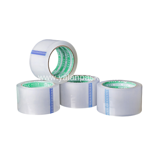 Clear plastic shipping parcel packaging tape