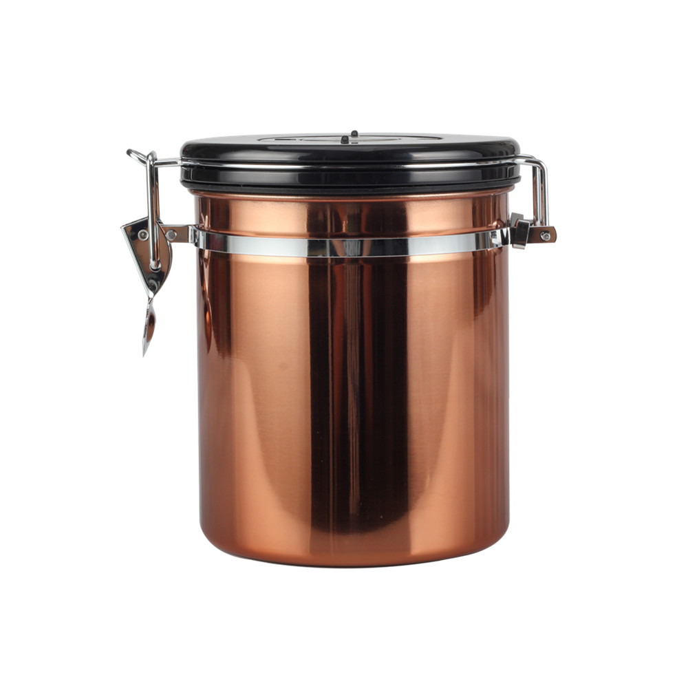 Coffee Canister Airtight Vacuum Coffee Canister