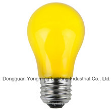 A15 15W/25W/30W Incandescent Bulb with Yellow Paint
