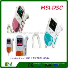 MSLDSC 2016 Heiße Verkauf Baby-stichhaltige fetale Doppler-Ultraschallmaschine