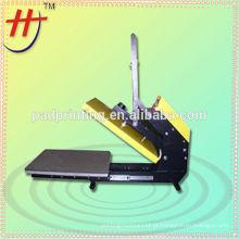Venda quente LT-3804D Máquina de impressão semi-automática magnética do t-shirt