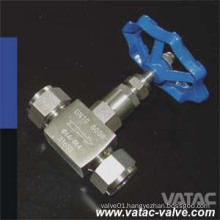 Forged Steel NPT/Thread/ Ends Integral Bonnet Needle Valve