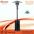 Standing Floor Propane Outdoor Gas Patio Heater in Silver Color