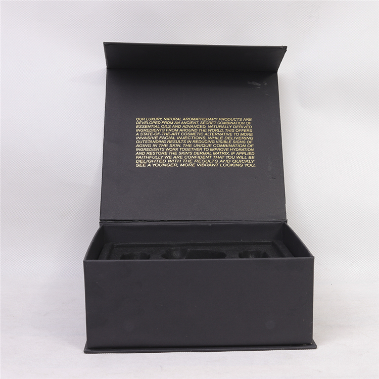 Black Matte Elegant Storage Gift Cosmetics Box
