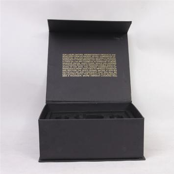 Black Matte Elegant Storage Gift Cosmetics Box