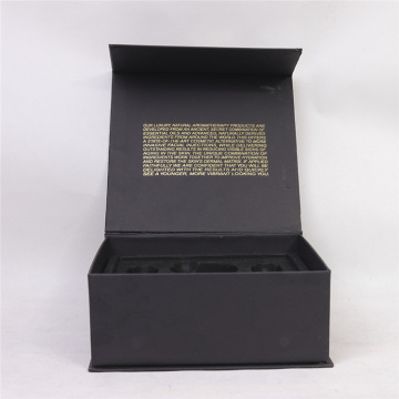 Black Matte Elegant Storage Gift Cosmetic Box