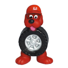 Dog Toy Vinyl Dog avec produits pour pneumatiques