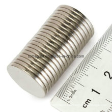 Disc Magnet D12.7X3.175 mit Klebeband