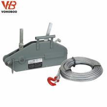 Grue de traction de corde de fil d'alliage d'aluminium de VOHOBOO de haute qualité à vendre