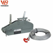 VOHOBOO High Quality Aluminum Alloy Wire Rope Pulling Hoist for sale