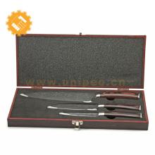Couteau de chef de cuisine en acier inoxydable OEM couteaux toujours tranchant lame de damas