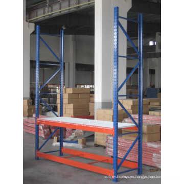 Estantes de almacenamiento de estantería de acero ajustable