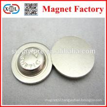 round shape school badges magnet