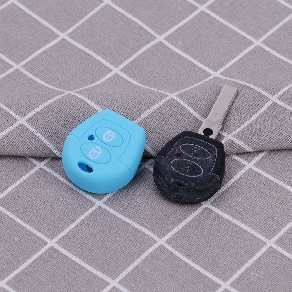 vw car key silicone holder