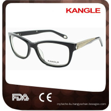 Lady elegance acetate optical glasses, Young Lady beautiful optical frame