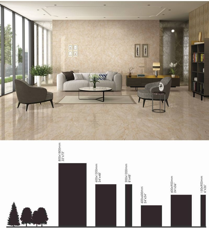 polished vitrified porcelain tiles