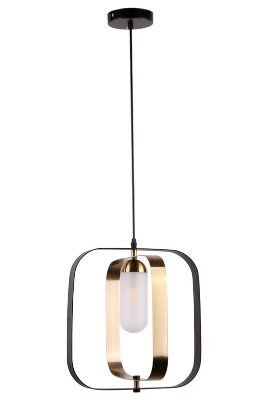 Modern Light Black Brass