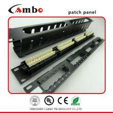 Feito na China painéis de patch inteligente High-Density 1U (24 portas)