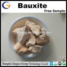 Al2O3 87% China Calcined bauxite Calcined aluminous soil