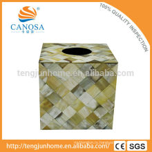 Натуральная коробка для рогов Ox Horn Square Tissue Box