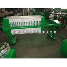450 Filtre manuel de presse de chambre de serrage de pp pour la métallurgie