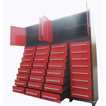 Armoire de rangement pour table à repasser de 2m de haut en métal avec bouton