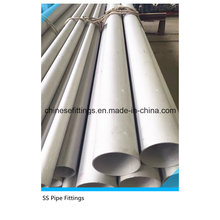 ASME TP304 Tp316L Tp321 Seamless Stainless Steel Pipes