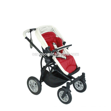 2015 wholesales four wheels 5 points harness baby stroller with EN188 approved