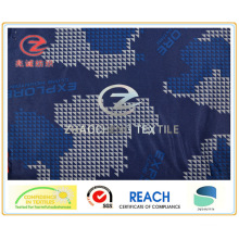 240t Poly Pongee Triangle Pattern Desert Printing Fabric (ZCBP123)