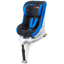 Baby car seats with grey-blue cover