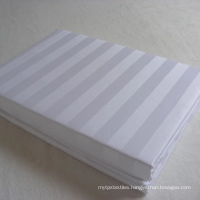Cheap White Flat Cotton Bed Sheet for Hotel