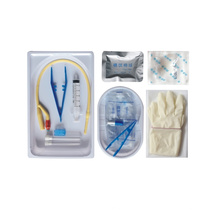 Kit de cateterismo uretral desechable para uso quirúrgico