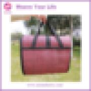2015 Fshion Design Foldable Woven Beach Mat Bag