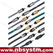 Câble Toslink numérique à fibre optique optique