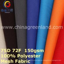 Malha 100% Poliéster Malha Tecido para Camisa Sportswear (GLLML400)