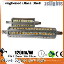 4000k color blanco LED R7s lámpara LED R7s 300W reemplazo de LED halógeno