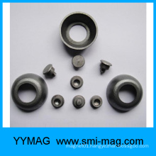 Custom different FeCrCo magnet/Nail,bar,disc with holes shape