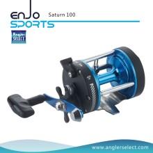 Angler Select Saturn Сильное тело из графита / 1 подшипник / правая ручка Морская рыбалка Троллинговая катушка (Saturn 300)