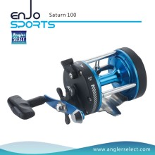 Angler Selecione Saturno Forte Grafite Corpo / 1 Rolamento / Direita Pega Pesca Marítima Trolling Reel (Saturn 300)